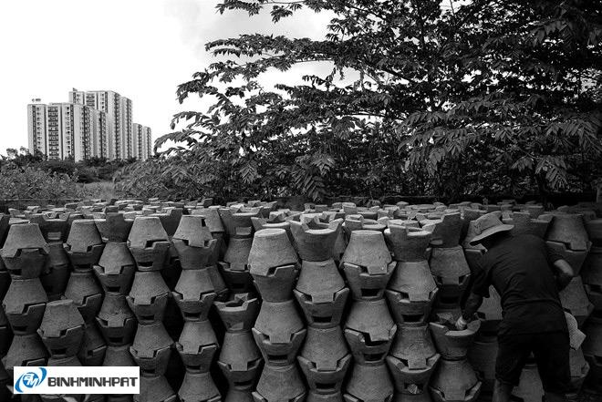 Lò gốm bên kênh Lò Gốm ở Sài Gòn 02