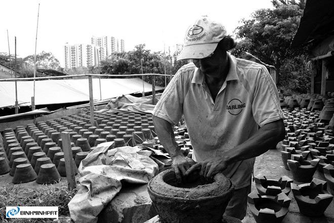 Lò gốm bên kênh Lò Gốm ở Sài Gòn 10