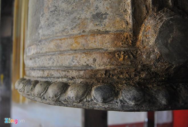 Chuông đồng cổ khắc voi chiến, rồng phục 4