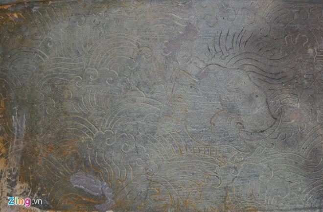 Chuông đồng cổ khắc voi chiến, rồng phục 8