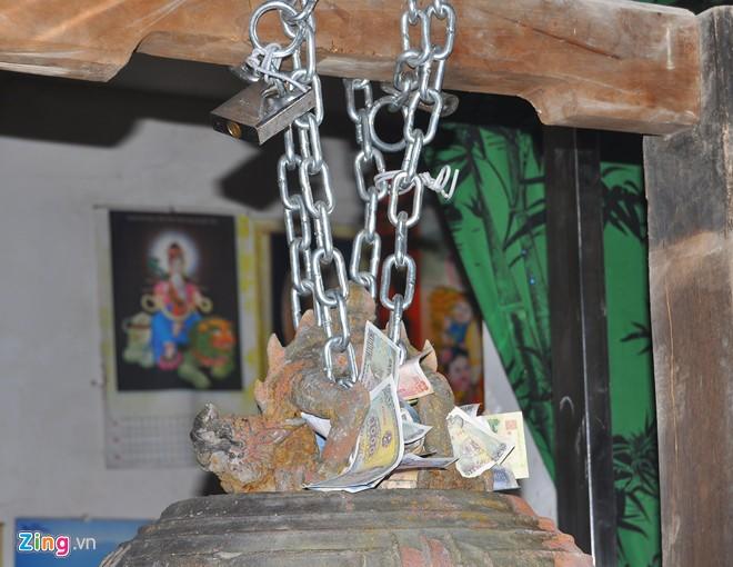 Chuông đồng cổ khắc voi chiến, rồng phục 9