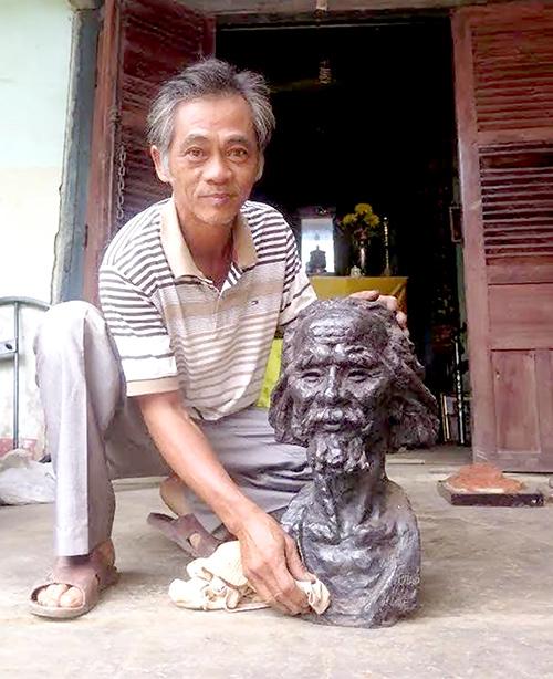 Nghệ nhân ưu tú Dương Ngọc Tiển trên báo Quảng Nam