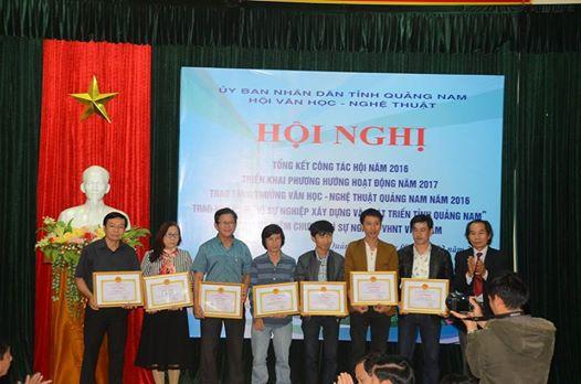 Hội nghị tổng kết hội văn hóa nghệ thuật tỉnh Quảng Nam 2016
