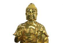 Đúc tượng đồng Bất Động Như Lai dát vàng
