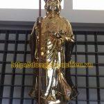 đúc Pho tương Phật Địa Tạng