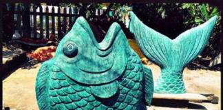 Đúc đồng trang trí với mẫu cá đồng xinh động đẹp mắt - hinh 1